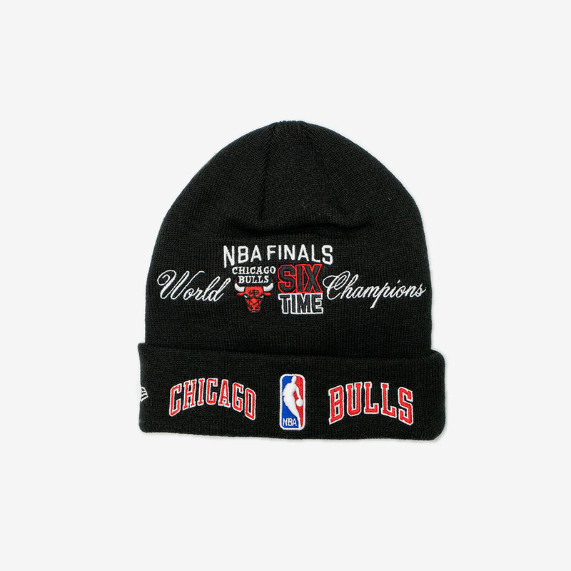 CHICAGO BULLS NBA FINALS KNIT BEANIE