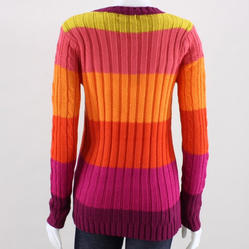Poof Cyndy Cable Knit Sweater