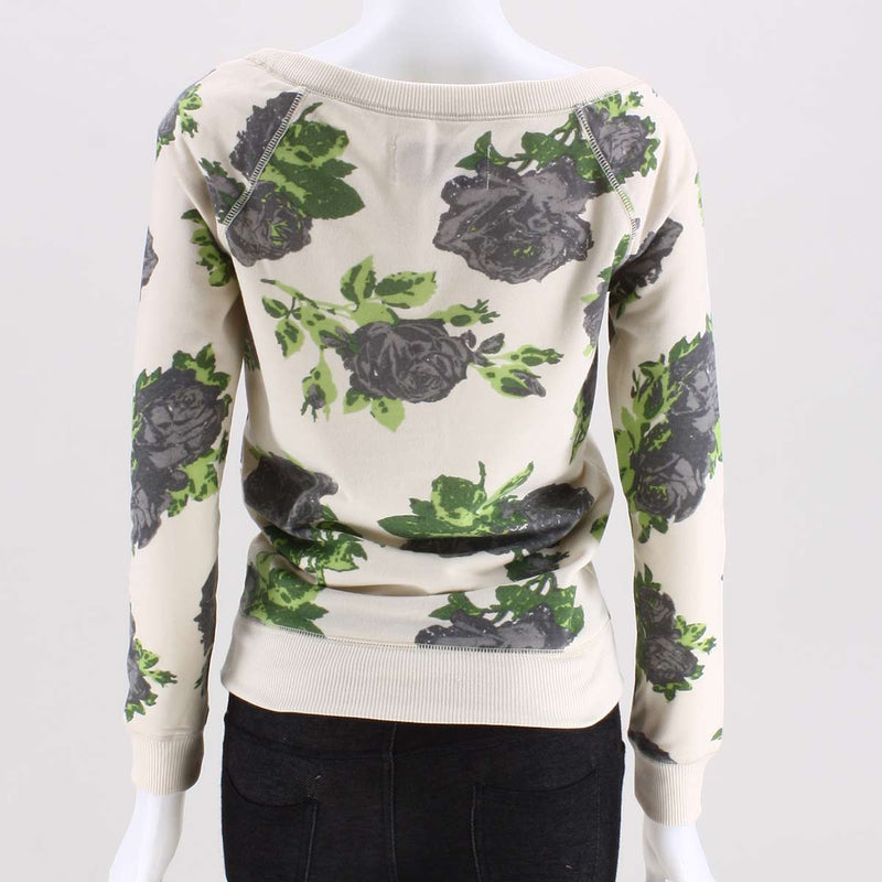 Poof Rosemary Floral Knit Top