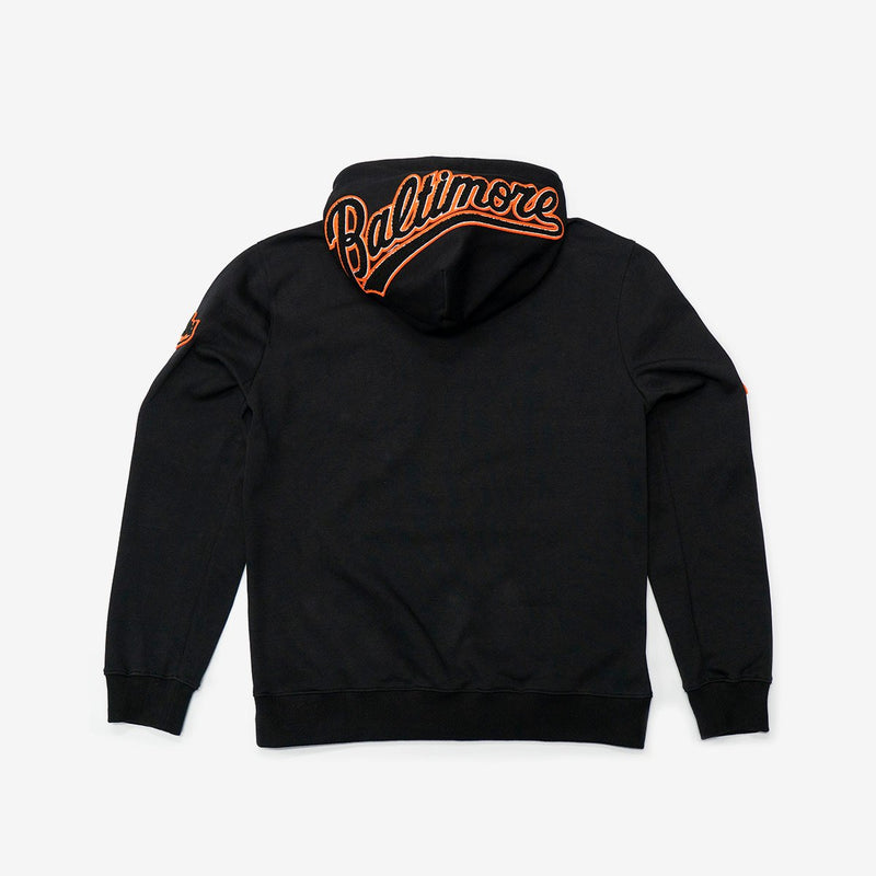 Baltimore Orioles Logo Pullover Hoodie