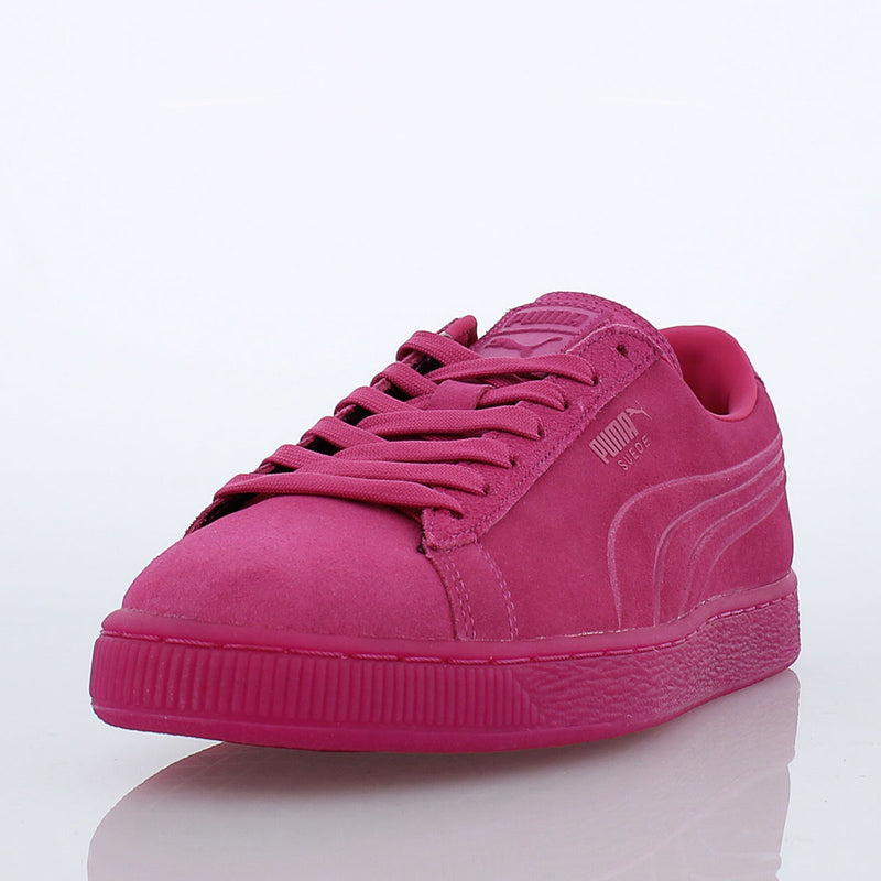PUMA Suede Embossed Iced Fluo