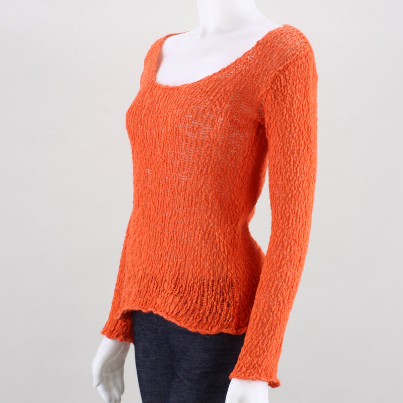 Umgee Madison Open Knit Sweater