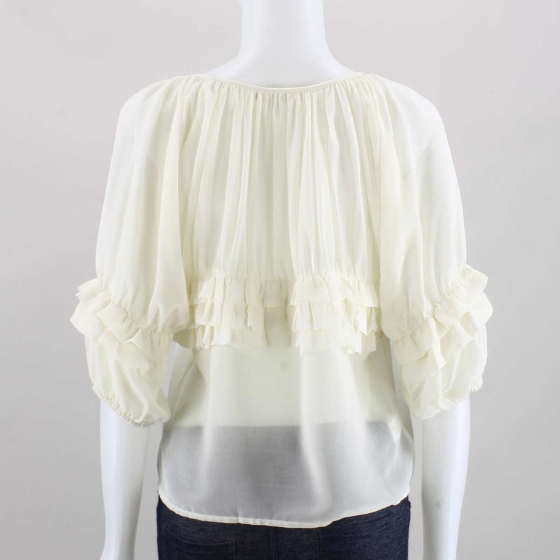 Ya Los Angeles Yogi Chiffon Top