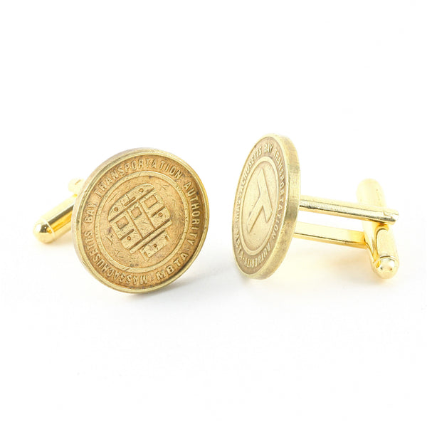 Boston Token Cufflinks