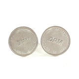 Detroit Transit Coin Cufflinks