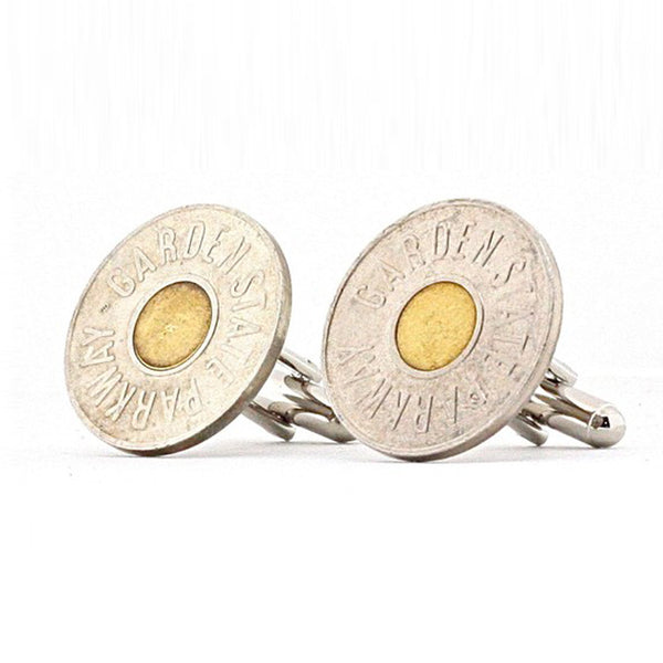 New Jersey Parkway Coin Cufflinks