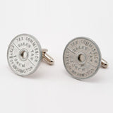 Washington Sales Tax Coin Cufflinks