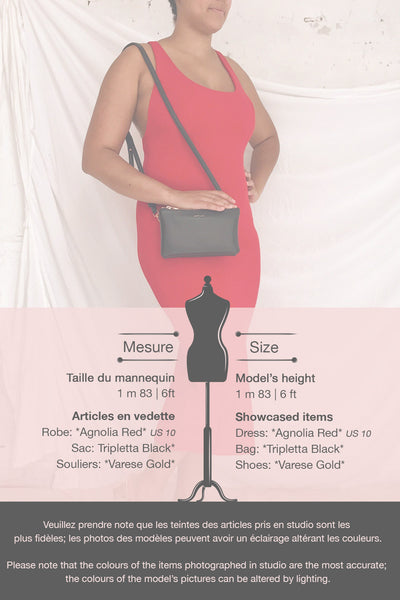 Agnolia Red Cocktail Dress | La petite garçonne template