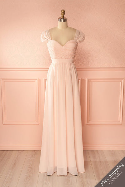 Aimi Dawn Blush Sweetheart Bridesmaids Gown | Boudoir 1861 1