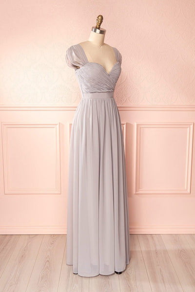Aimi Moon Grey Sweetheart Bridesmaid Gown | Boudoir 1861 4