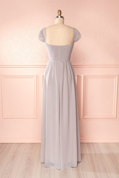 Aimi Moon Grey Sweetheart Bridesmaid Gown | Boudoir 1861 6