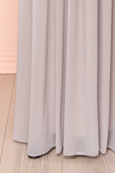 Aimi Moon Grey Sweetheart Bridesmaid Gown | Boudoir 1861 8