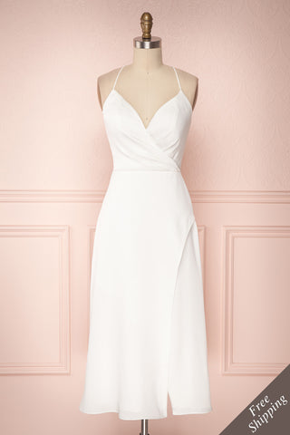 Mitsou White Midi A-Line Bridal Dress | Boudoir 1861