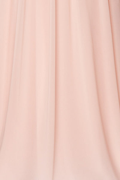 Alitta Pink Embroidered Bodice Maxi Dress | Boudoir 1861 9