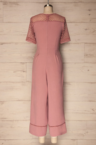 Alonnissos | Pink Jumpsuit