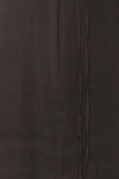 Alvis Crow Black Pleated Tunic Midi Dress | Boutique 1861 8