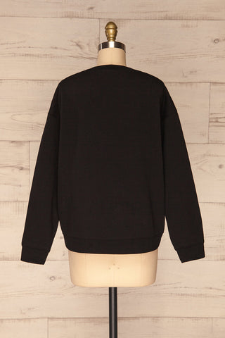 Alvito Black ''Professional Weekender'' Sweater | BACK VIEW | La Petite Garçonne
