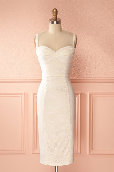 Amala Tendresse White Fitted Bridal Dress | Boudoir 1861