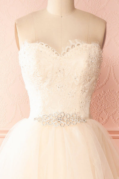 Amy-Li Bridal Tulle Gown with Crystals and Sequins | Boudoir 1861 2