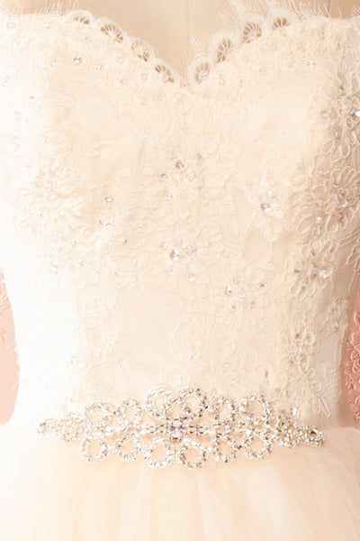 Amy-Li Bridal Tulle Gown with Crystals and Sequins | Boudoir 1861 9