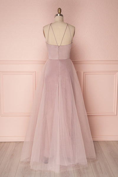 Anahis Day | Lilac Tulle & Silk Dress