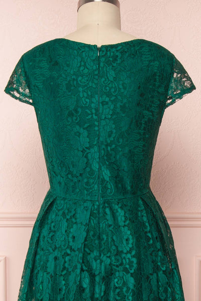 Anaick Green Lace A-Line Maxi Gown | Boutique 1861 6