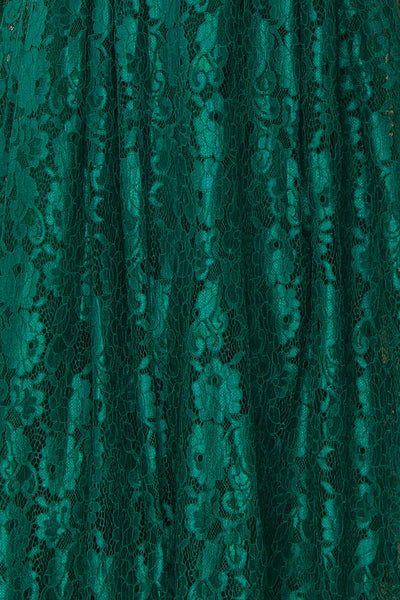 Anaick Green Lace A-Line Maxi Gown | Boutique 1861 8
