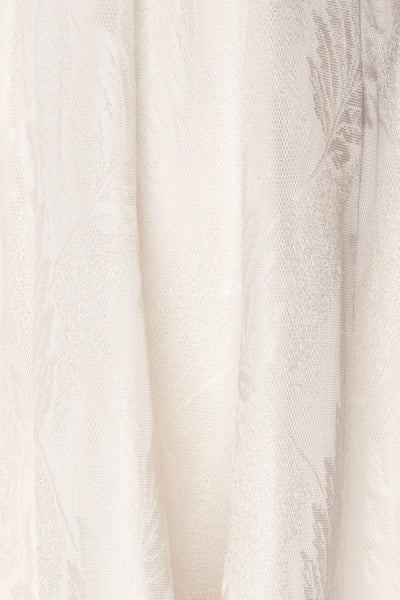 Andrieli Embroidered High-Low Bustier Bridal Dress | Boudoir 1861 8