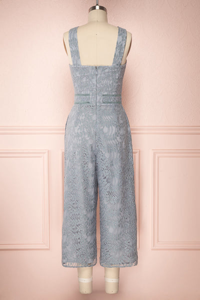 Anielka Powder Blue Lace Wide Leg Jumpsuit | Boutique 1861