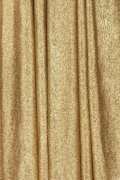 Anywa Or Gold Glitter Dress | Robe Longue fabric detail | Boutique 1861