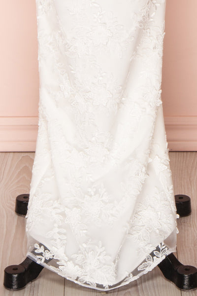 Aranna White Lace Bridal Dress | Robe Blanche skirt | Boudoir 1861