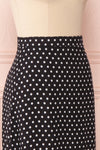 Ashling Black & White Polkadot Flare Midi Skirt | Boutique 1861 5