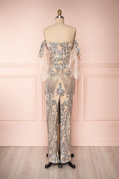 Asteria Mermaid Sequin Gown | Robe Sirène | Boutique 1861 back view