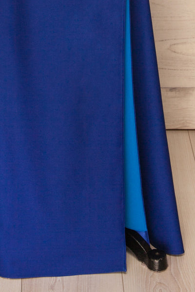 Athenia Royal Blue Top & Skirt Set skirt | La Petite Garçonne Chpt. 2