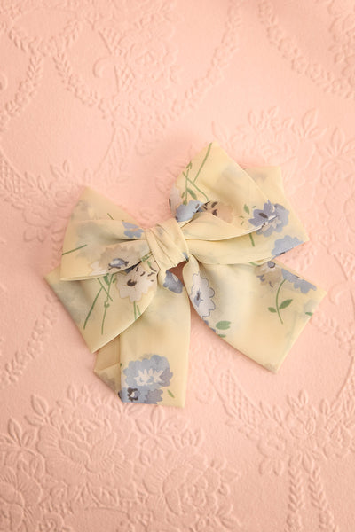 Belladone Nuage Ivory Floral Bow Hair Clip | Boutique 1861 1