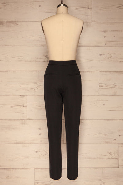 Brzeziny Black Dress Pants back view | La petite garçonne