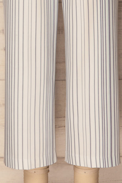 Byklo White, Blue & Lilac Striped Straight Pants | La Petite Garçonne 8