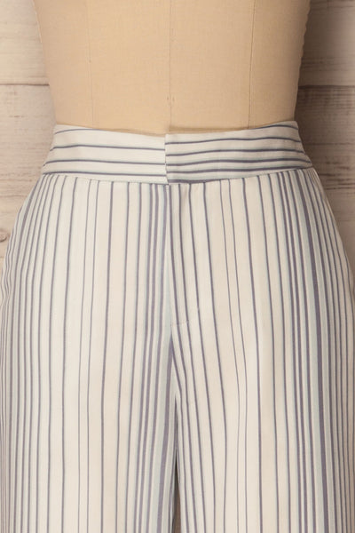 Byklo White, Blue & Lilac Striped Straight Pants | La Petite Garçonne 3