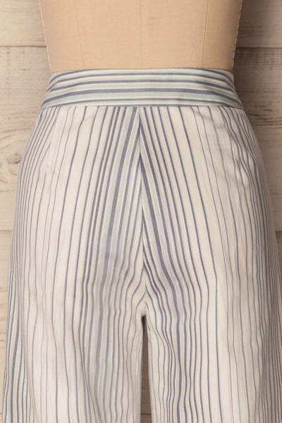 Byklo White, Blue & Lilac Striped Straight Pants | La Petite Garçonne 7
