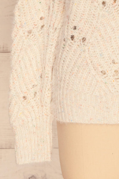 Cachipirca Mock Neck Knit Sweater | La petite garçonne bottom