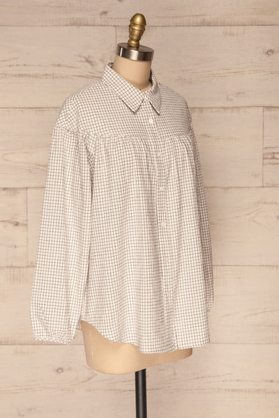 Cavertul | Loose Checkered Shirt