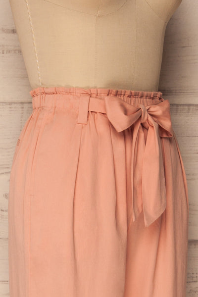 Chalki Petal Light Pink Pleated Trousers | La Petite Garçonne Chpt. 2