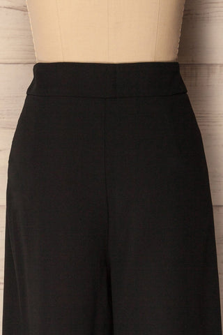 Chesterfield Black High Waisted Pants | La Petite Garçonne