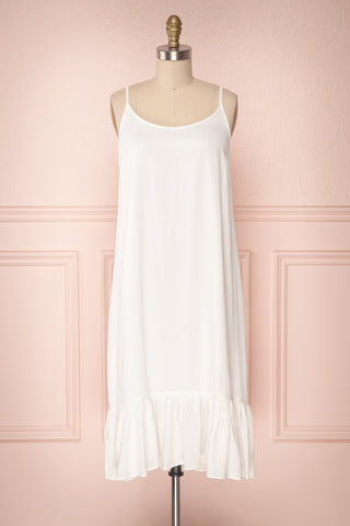 Criosa Ivory Soft Slip Dress | Boutique 1861