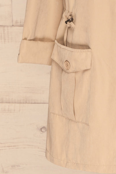 Damery Beige Grey Loose Jacket | La petite garçonne bottom