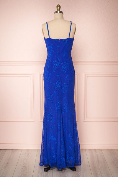 De Bourgh Ocean | Blue Mermaid Gown