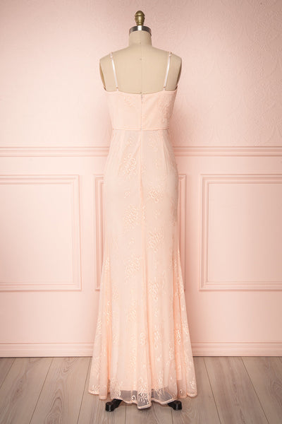 De Bourgh Petal | Pink Mermaid Gown