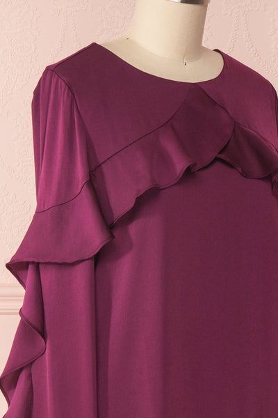 Derdre | Robe Tunique Prune