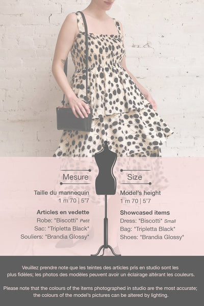 Biscotti Black & White Polkadot Midi Dress | Boutique 1861 template