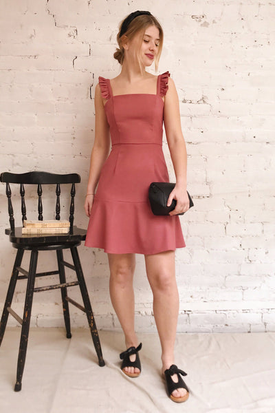 Carazon | Pink Short Dress